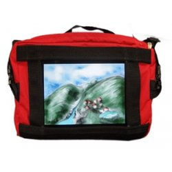 Nimbustote - NimbusTote-301 - Salero Carrying Case (Tote) for iPad - Red - 9.5 Height x 13 Width x 4 Depth