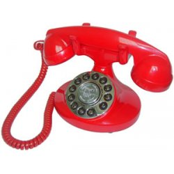 Paramount Phones - ALEXIS-RD - Alexis 1922 Decorator Phone Red
