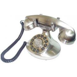 Paramount Phones - ALEXIS-SV - Alexis 1922 Decorator Phone Silver