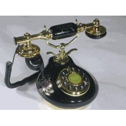 Golden Eagle - Porcelain-black - 8809-ht Porcelain Phone Black