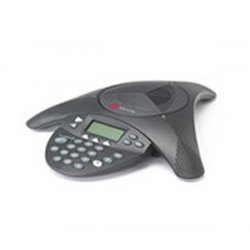 Polycom - 2200-07880-160 - Polycom Soundstation 2W Basic Conference Phone - 1 x Phone Line(s) - 1 x Sub-mini phone Headset, 1 x USB, 1 x Audio Out