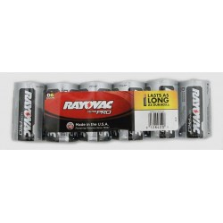 Rayovac - RAY-AL-D - Alkaline Shrink Wrapped D 6 Pack