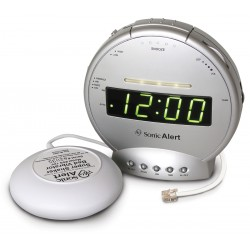 Sonic Bomb - SBT425SS - Alarm clock with phone Sig and Vib