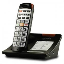 Serene Innovations - cl7050 - Serene Innovations CL30 DECT Cordless Phone - Cordless - 1 x Phone Line - Speakerphone