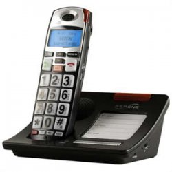 Serene Innovations - cl7010 - Serene Innovations CL60 DECT Standard Phone - Cordless - 1 x Phone Line - Speakerphone - Backlight