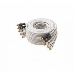 Steren Electronics - 254-675IV - 75' IvoryComponent Video-Audio