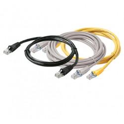 Steren Electronics - 308-605BL - Steren Flush-Mold Cat. 5E UTP Patch Cord - RJ-45 Male - RJ-45 Male - 5ft - Blue