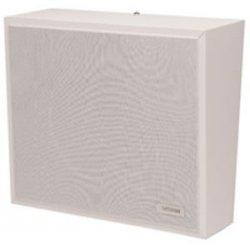 Valcom - V-1061-W - Valcom V-1061-W 12 W RMS Speaker - 1-way - White - 80 Hz to 15 kHz - 45 Ohm - Surface Mount, Wall Mountable