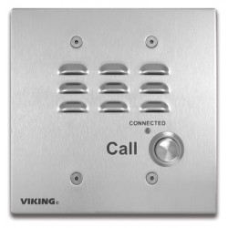 Viking - E-32-EWP - Handsfree Double Gang Speaker Phone with Dialer and Enhanced Weather Protection