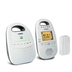 AT&T / VTech - DM251-102 - Audio Baby Monitor W/ Open/close Sensor