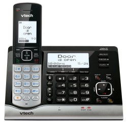AT&T / VTech - VC7151 - VTech VC7151 DECT 6.0 Cordless Phone - Cordless - 1 x Phone Line - Speakerphone - Answering Machine - Hearing Aid Compatible