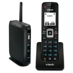 AT&T / VTech - VSP 600 - VTech ErisTerminal VSP600 IP Phone - Wireless - Desktop, Wall Mountable - 6 x Total Line - VoIP - Caller ID - SpeakerphoneNetwork (RJ-45) - PoE Ports