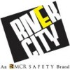 River City - 2083SRX4 - Lum .38mm Pvc/poly Suit3 Pc Refl Tape Flor Lime