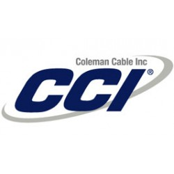 Coleman Cable - 51104-46-01 - CMR Multi-Conductor Electronic Wire (Unshielded) - 18/2 Stranded BC CMR/CL3R - 1, 000' RabbitPull Pull Box, White