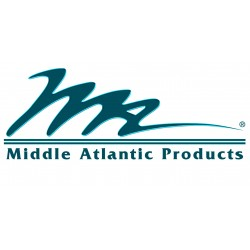 Middle Atlantic Products - LL-H2A21 - Lever Lock, Horizontal Angle, 21D, 2 Offset Lace Bar