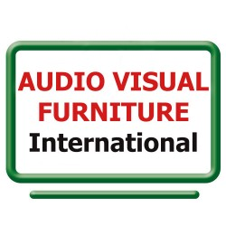 AVFI - STAND60 - Eyelevelstand F/ Speakertrack60 Sits On Top Of A Credenza Or Table