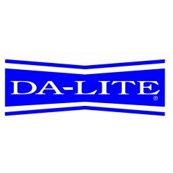 Da-Lite - 98037 - Da-Lite Mounting and Extension Bracket - 75 lb - Black