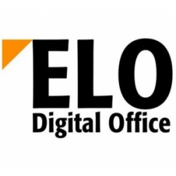 "ELO Digital Office - E191105 - Elo E191105 Monitor Stand - Up to 17"" Screen Support - Desktop - Gray"