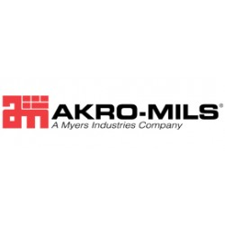 Akro-Mils / Myers Industries - 76461  GRAY ASN - Cart Tilt With Lid Gray 60 Gal 33 1/2 Hx30 1/2 Wx48 L 300 Pound Akro-mils Akro-cart, Ea