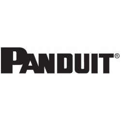 Panduit - C2CACT6F04ADB1 - Panduit Net-Contain Door Panel - Black - 51U Rack Height - 89.3 Height - 48 Width