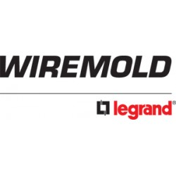 Wiremold / Legrand - 880W1 - Stl Wood Fb 1-gang 880 Series