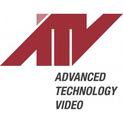 Advanced Technology Video - A-pfm - Ptz Flush Mount Bracket For 22x Ptz