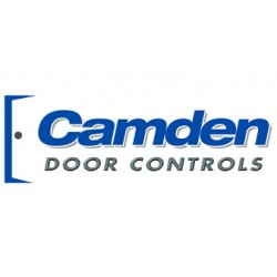 Camden Door Controls - CM-54B - Aluminated Blue Surface Mount