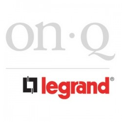 On-Q / LeGrand - 364290-02 - Onq Anyport Keyed Rj45 Jack Insert, Cat 5e, Almond