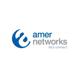 Amer Networks - AMR1AWSV3-KIT - Kit Sit Stand Combo Wall Mount Sit Stand Combo Workstation