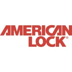 "American Lock - A6101KA-80312 - 6 Pin Steel Padlock With1-1/2"" Shackle"