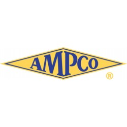 Ampco Safety Tools - SS-1/2D9MM - 9mm High Strength Nickel Aluminum Bronze Socket with 1/2 Drive Size and Natural Finish