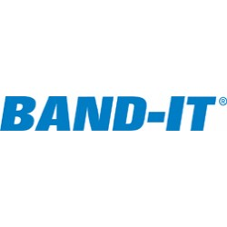 "Band-IT - AS2119 - 1/4""x10"" Smooth I.d.tie-lock Tie 304 Stnls Steel"
