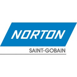 "Norton - 66261133338 - Norton 12"" Blank X No Hole 240C Grit T461 TUFBAK DURITE Silicon Carbide Very Fine Grade Closed Coat Resin Bond Waterproof Paper Disc"