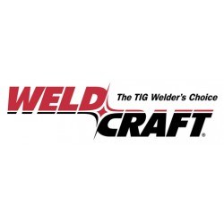 WeldCraft - CS410-50 - Weldcraft 410 A Crafter W-410 Water Cooled Hand-Held TIG Torch Package For .020' - 5/32' Rod With Rigid 70 Head, 50' Leads, W-410 Torch Body, Handle, 50 ft. Braided Rubber Power Cable, Long Back Cap, Gas Hose, Water Hose,