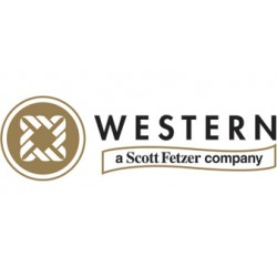 Western Enterprises - G-25-600W - Western 2 1/2' 600 psig Regulator Gauge With 1/4' NPT Lower Port, ( Each )