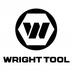 "Wright Tool - 1762 - 1"" 12 Point Spud Handlebox Wrench"
