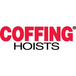 Coffing Hoists - LMHA2000-15 - 1 Ton Chain Hoist With 15 Ft Lift