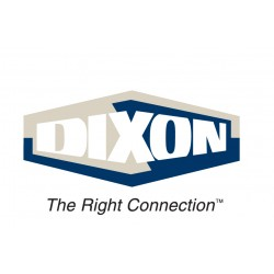 Dixon Valve - BN44RU87 - 1/2 X 1/2 X 7/8 Brass Reusable Fittings