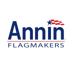 Annin - 746101 - 25 Foot Tall Flag Pole, Ea