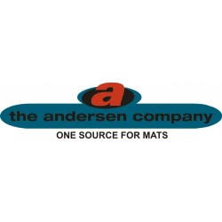 Andersen Company - 2240171313 - Waterhog Eco Entry Mat Rectangle With Half Oval On One End 3ftx13.9ft Blue, Ea
