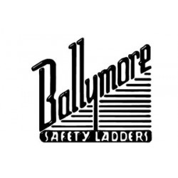 Ballymore / Garlin - FSH718P - Garlin Spring Loaded Casters Rolling Ladder 7 Step Knock Down Perforated Steel Gray, Ea