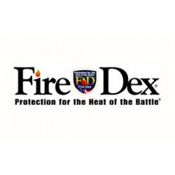 Fire Dex - 32X6J86W-M - Turnout Coat, Black, M, PBI/Matrix