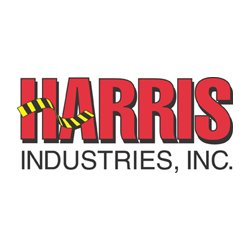 "Harris Industries - HT206BW - Harris Industries 2"" X 36 yd Black/White 6 mil Vinyl Hazard Warning Tape, ( Roll )"