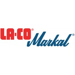 La-Co Markal - 61063G - Solid Paint Marker Quick Stick Red Color, EA