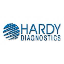 Hardy Diagnostics - S15 - TSI Agar Slant (Triple Sugar Iron), with slip cap, 10ml, 16x125mm Round Bottom Tube, no label on container, order by the package of 100