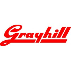 Grayhill - 34A3P18T7M2QT - Switch Toggle ON None ON 3PDT Round Toggle PC Pins 5A 250VAC 28VDC PC Mount with Threads