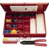 3M - STK-1 - Wire Terminal Kit, Terminal Type: Vinyl Insulated, Number of Pieces: 850, Number of Sizes: 13