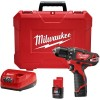 Other - 2407-22 - M12 3/8' Drill/Driver Kit