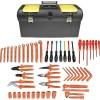 Jensen Tools - JTK-13309 - Electrician's Insulated Tool Kit- Metric