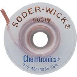 Chemtronics - 50-3-25 - SODER-WICK Rosin Desoldering Braid, .080, 25ft